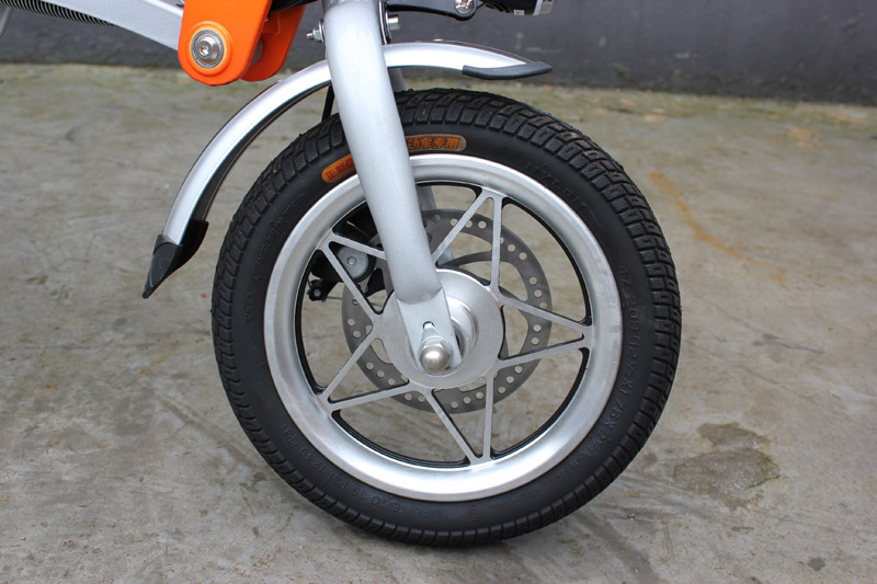 SY-S1_Details_front wheel with disc brake