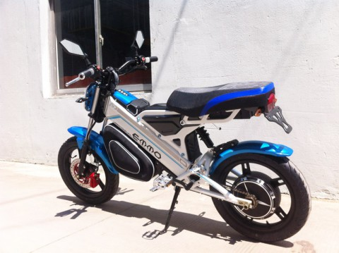 electric scooter SY-DL_blue&white (2)