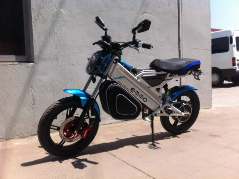 electric scooter SY-DL_blue&white (3)