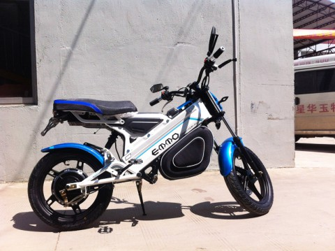 electric scooter SY-DL_blue&white (5)