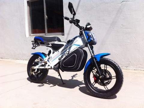 electric scooter SY-DL_blue&white (7)