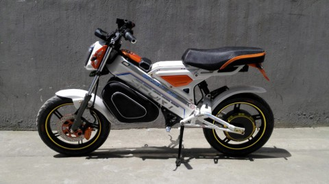 electric scooter SY-DL_orange&white (1)