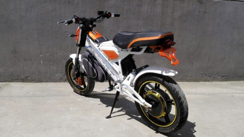 electric scooter SY-DL_orange&white (2)