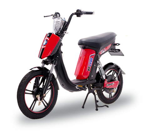 e-bike model SY-LXQS red