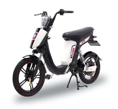 e-bike model SY-LXQS white