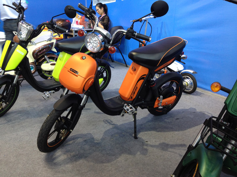 Electric Bike Modern Knight 2015_SY-LXQS_Fair Booth