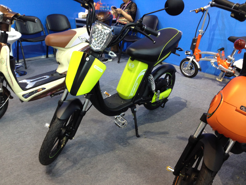 Electric Bike Modern Knight 2016_SY-LXQS(HK)_Fair Booth