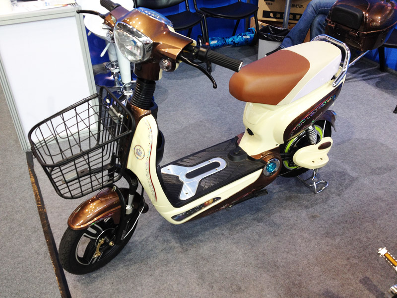 Electric Scooter Dipper 2016_SY-BDXED_Fair Booth