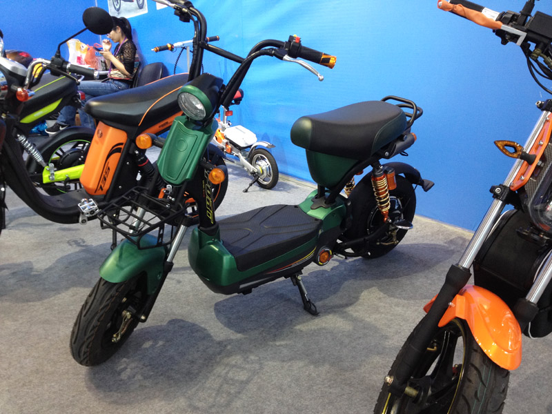 Electric Scooter Mini 2016_SY-MN133S_Fair Booth