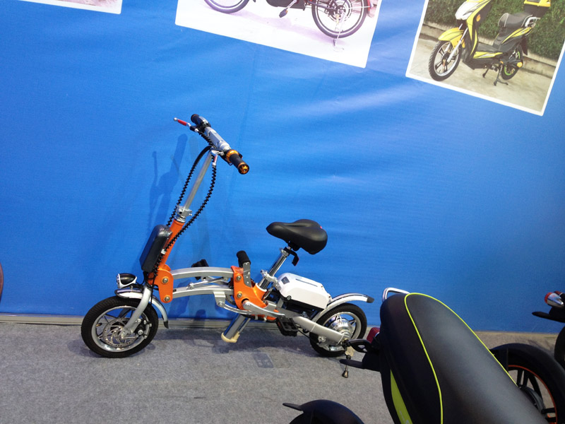 Folding Electric Bike S1 2016_SY-S1_Fair Booth