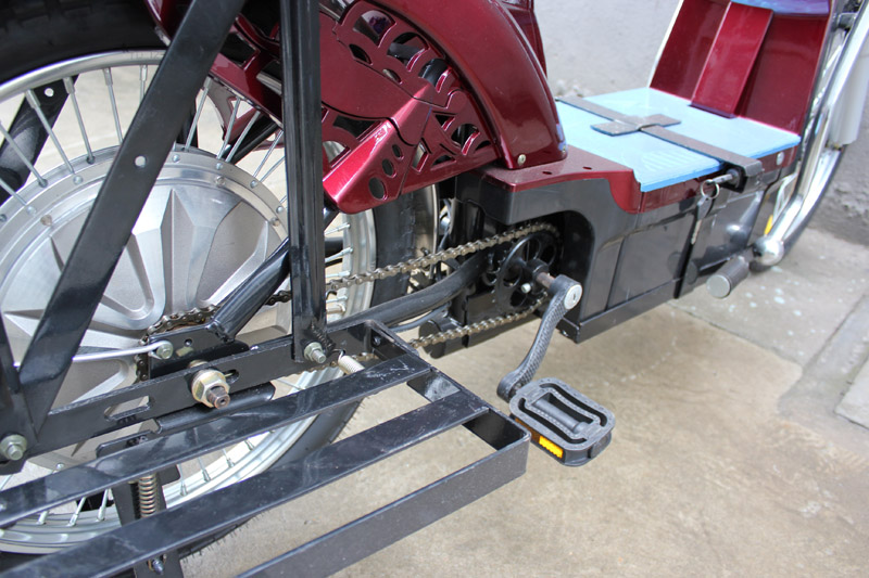 SY-BZ_Details_extra pedal drive system