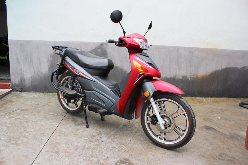 electric scooter SY-DHY_red&black (3)