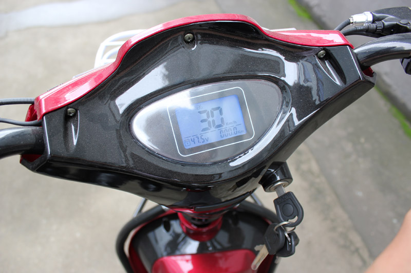 electric bike SY-JML_Details_LCD speedometer