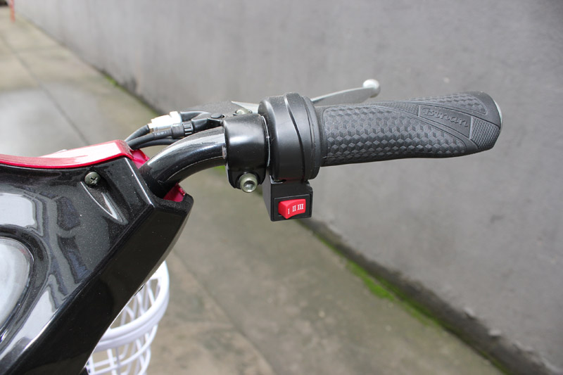 electric bike SY-JML_Details_throttle bar with 3-gear speed button
