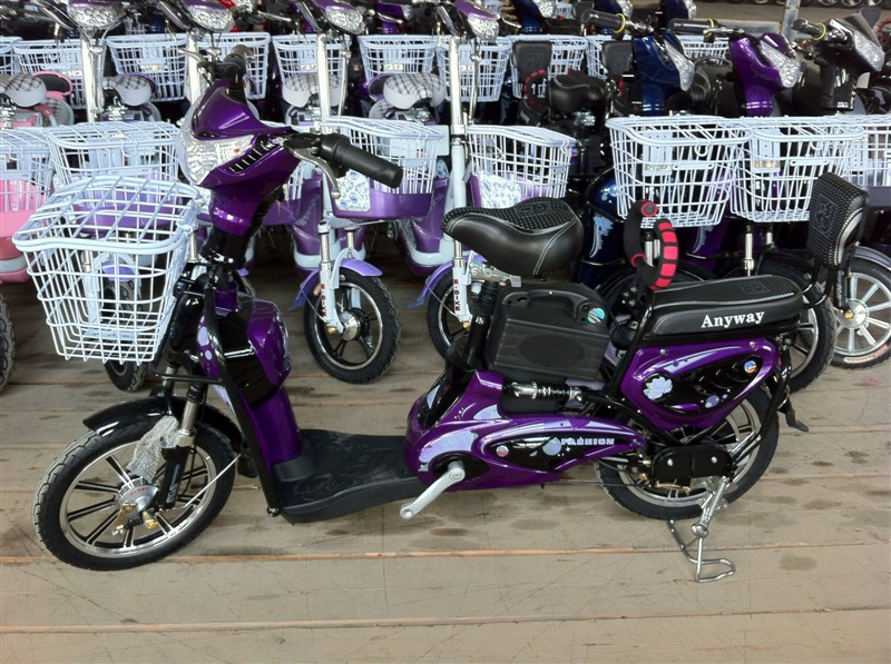 electric bike King Molly, electric bike SY-JML_dark purple&black