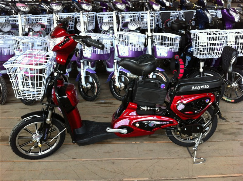 electric bike King Molly, electric bike SY-JML_dark red&black1