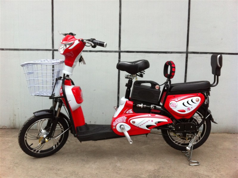 electric bike King Molly, electric bike SY-JML_red&white