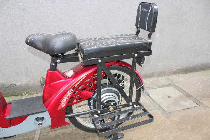 SY-JZ_Details_driver saddle&passenger folding seat with back rest&folding big carrier
