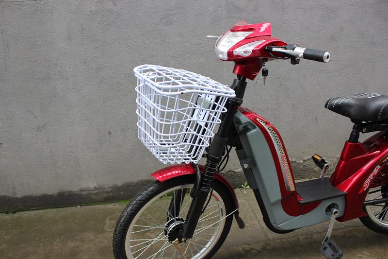 SY-JZ_Details_front big basket&front shock absorber