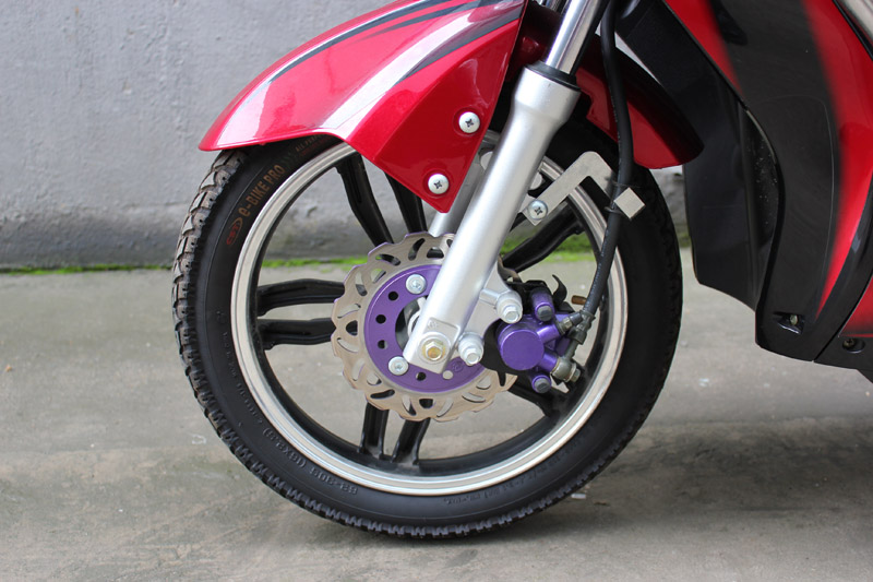 SY-XLY_Details_2.50-16 tyre&alu. hub&front disc brake