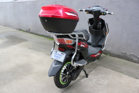 electric scooter Eaglet 2015,electric scooter with pedals SY-XLY_red&black (10)