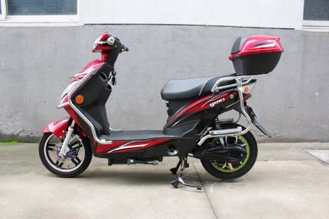 electric scooter Eaglet 2015,electric scooter with pedals SY-XLY_red&black (11)