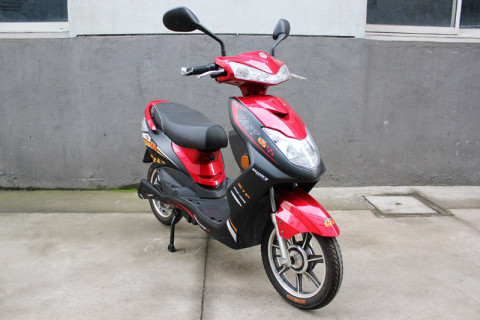 Electric scooter SY-XXY_red&black (4)