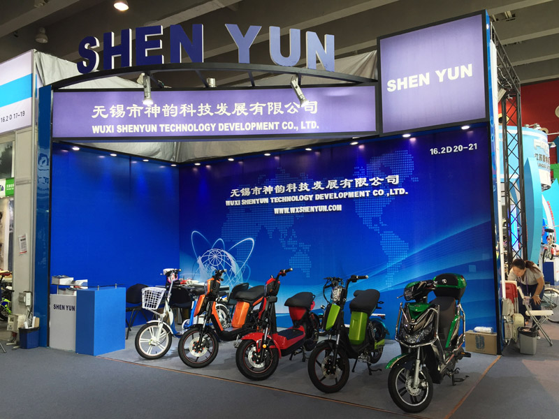 wuxi_shenyun_electric_bike_e-scooter_120th_canton_fair_booth