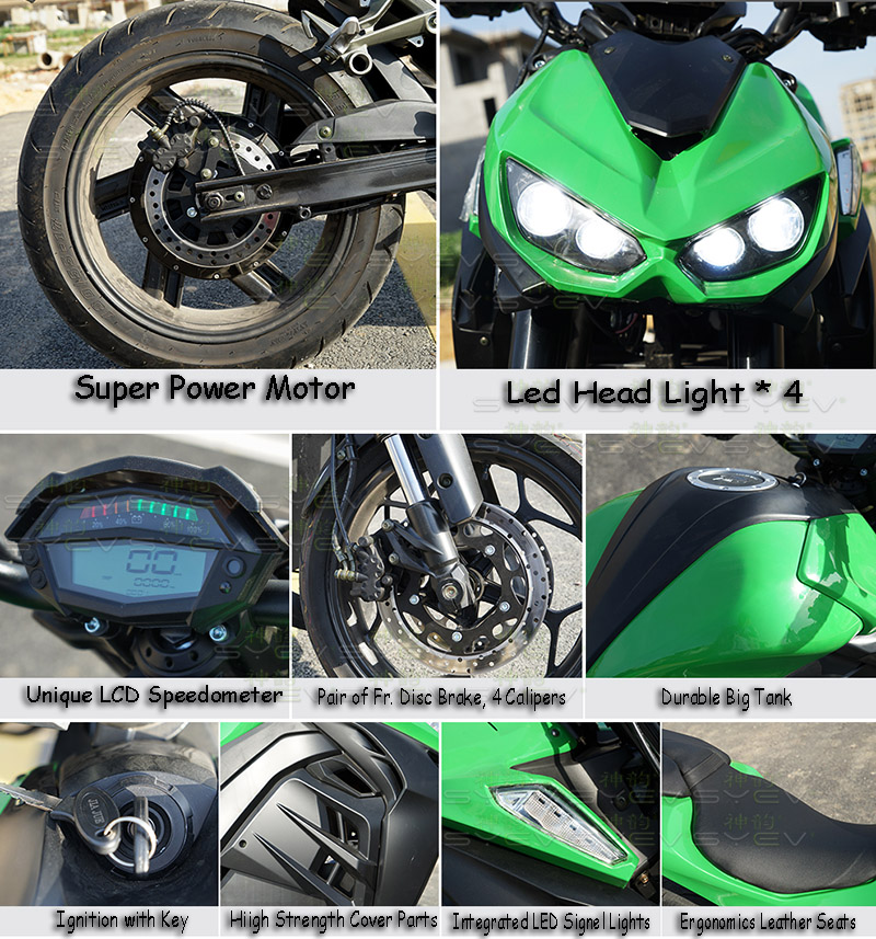 Electric Motorcycle Naked Master 2019 - SHENYUN | EV WORLD